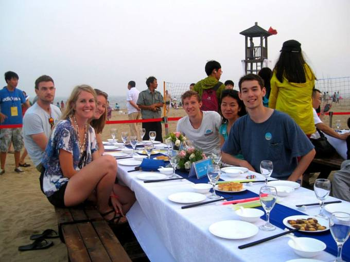 Sailing in Beijing, Kimberly Hetherington   Art Therapy with Kimberly