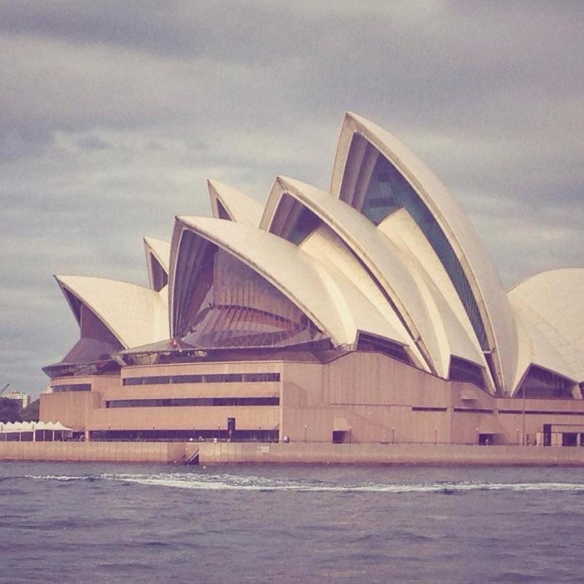 I landed in Sydney