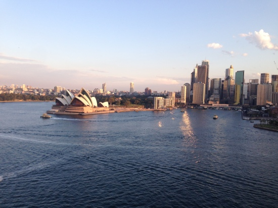 Sydney, Australia from the Harbour Bridge