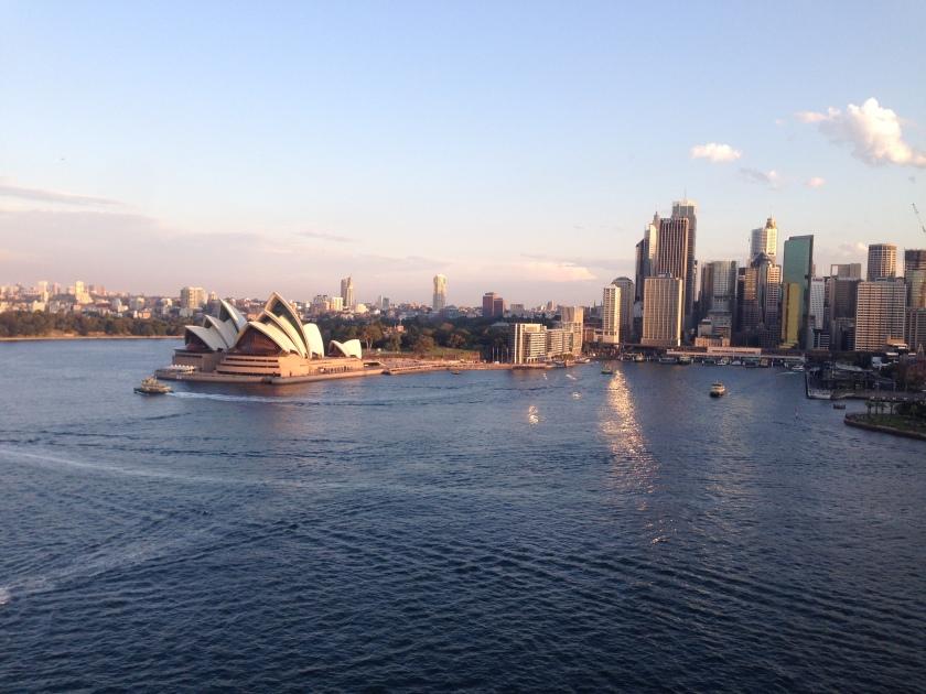 Sydney, Australia from the Harbour Bridge