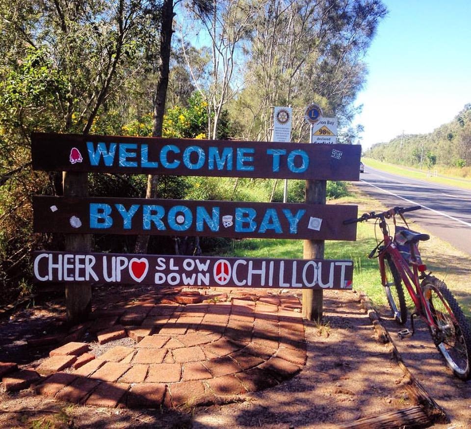 Welcome to Byron Bay: Cheer Up, Slow Down, Chill Out