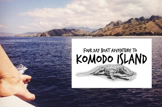 4 day boat adventure to Komodo Island | Life After Elizabeth