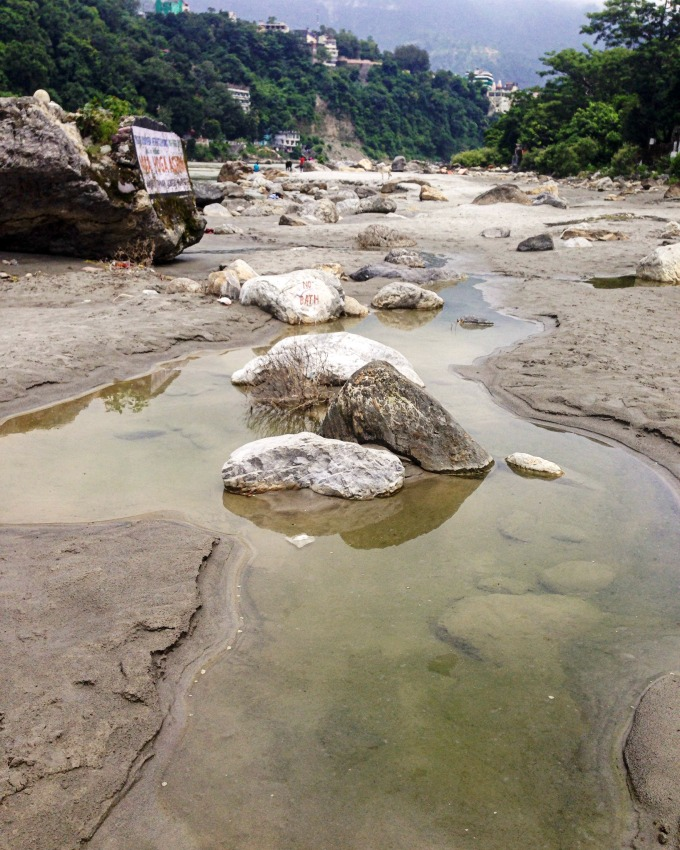 Ganges river, Rishikesh | Kimberly Hetherington | Art Therapy with Kimberly