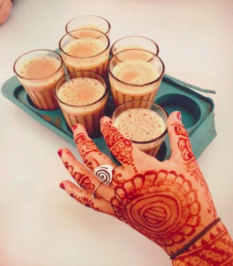 Rishikesh, India, henna tattoos