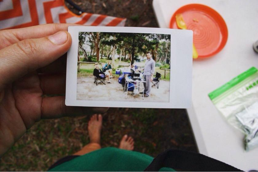 camping in Sandbar caravan park
