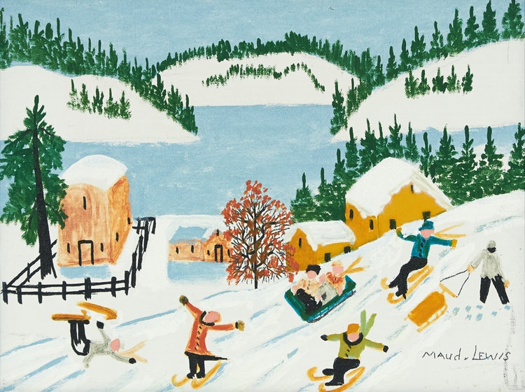 Maud Lewis, the greatest Canadian folk painter!