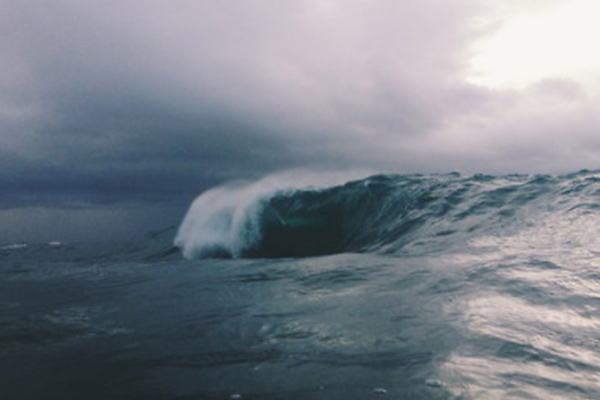 waves crashing  | Life After Elizabeth