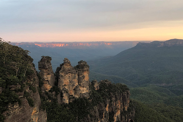 The 3 Sisters, Katoomba. The Blue Mountains