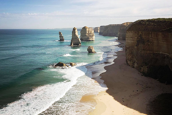 the 12 apostles in Melbourne, Australia | Life After Elizabeth