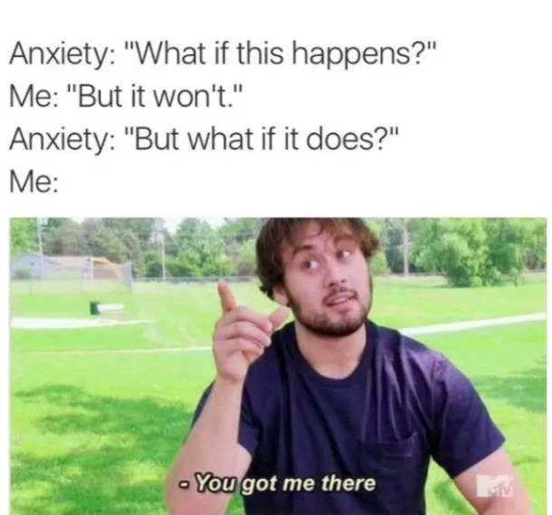 anxiety memes | Life After Elizabeth