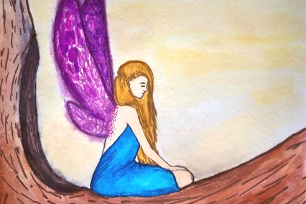 Fairy Among the Ants | A mythical story of belonging and the call to adventure | Kimberly Hetherington | Art Therapy with Kimberly