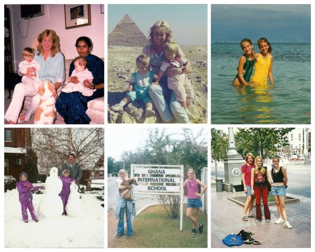 pictures of my childhood as a third culture kid | Kimberly Hetherington