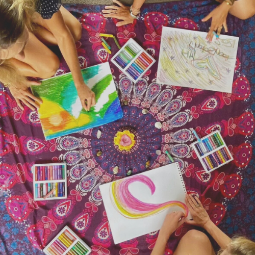 Group art therapy events with kimberly | Kimberly Hetherington